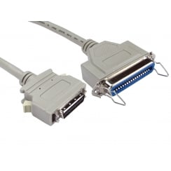 0.5m 36 Centronics (F) to Micro 36c Adapter Cable