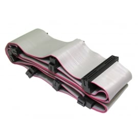 1.4m SCSI 3 Internal Half Pitch 68 Cable - 6 Device