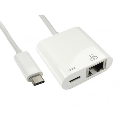 15cm Leaded USB Type-C to Gigabit Ethernet Adapter