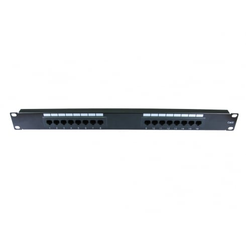 "19"" Metal Cat6 Patch Panel"