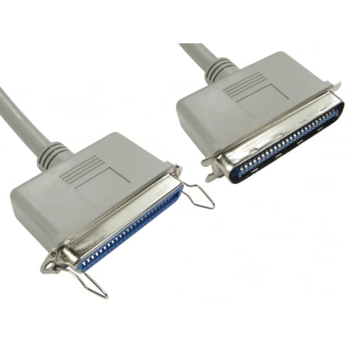 1m SCSI 1 50 Pin Centronic Extension Cable