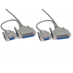 2.5m Dual Serial Data Transfer Cable
