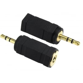2.5mm Stereo to 3.5mm Stereo Adapter