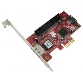 2 Port Internal/External SATA & IDE PCI-e Card