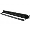 24 Port UTP Cat5e Patch Panel - In-line coupler