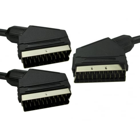 2m SCART Cable Splitter