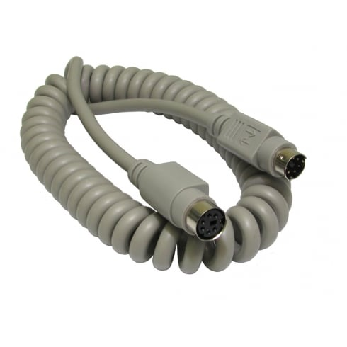 2Mtr Coiled PS/2 Extension Cable