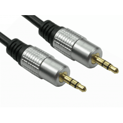 3.5mm Stereo Cable - Gold Connectors
