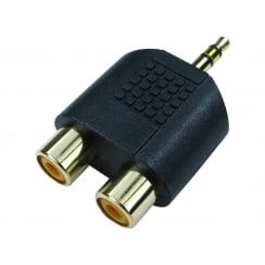 3.5mm Stereo to Two RCA Adapter