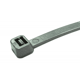300mm x 4.8mm Silver Cable Ties - 100 Pack
