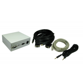 4 Port Metal Box with AV Modular Coupler kits (RJ45)