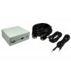 4 Port Metal Box with AV Modular Coupler kits (USB)