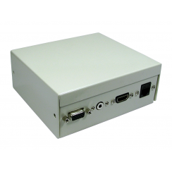 4 Port Metal Box with AV Modular Couplers