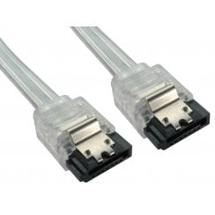 45cm UV Locking SATA v2 Data Cable - Straight to Straight