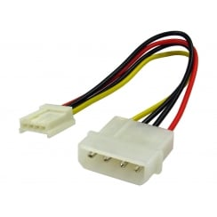 "5.25"" - 3.5"" 4 Pin Power Cable"