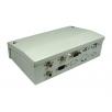 7 Port Metal Box with AV Modular Couplers