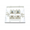 Cat5e Loaded Faceplate