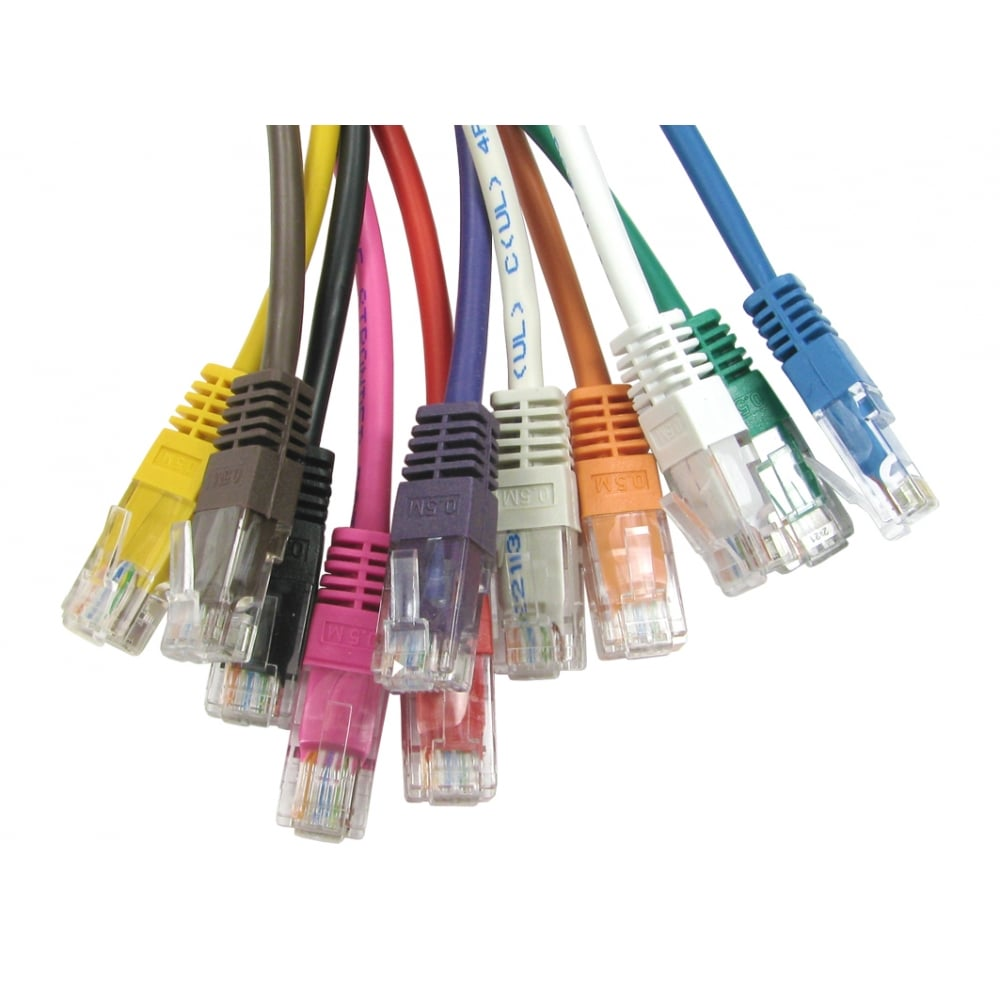 Cables Direct Ltd Cat5e Patch Cable Wiring On Home Ethernet 30m Grey