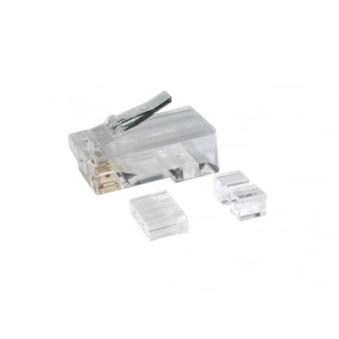 CAT6 RJ45 Plug 8P8C (Bag of 100)