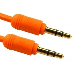 Coloured 3.5mm Stereo Cable