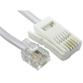 Crossover RJ11 Male to BT Male Cable