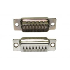 D15 Male Connector (Solder Type)