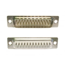 D25 Male Connector (Solder Type)