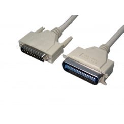 D25 Male to 36 Centronic Male IEEE 1284 Printer Cable