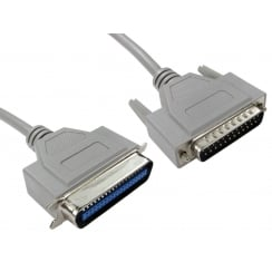 D25 Male to 36 Centronic Male Parallel Printer Cable