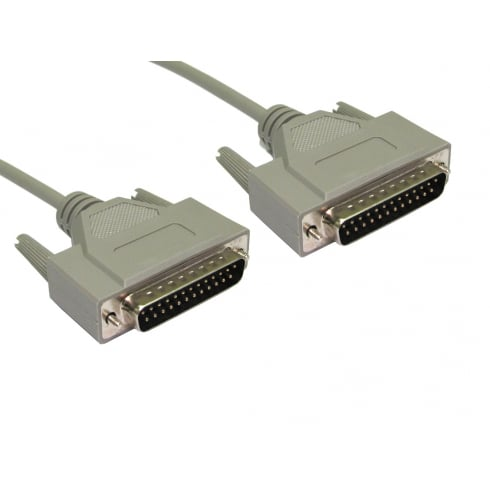 D25 Male to D25 Male Data Transfer Cable