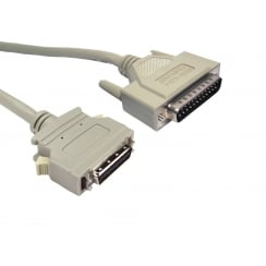 D25 Male to Micro 36c IEEE 1284 Printer Cable