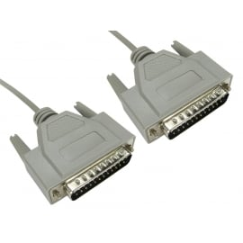 D25 to D25 Serial Cable, All Lines