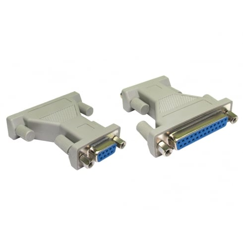 D9 Female to D25 Female Serial Adapter