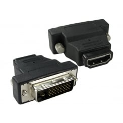 DVI-D to HDMI Adapter
