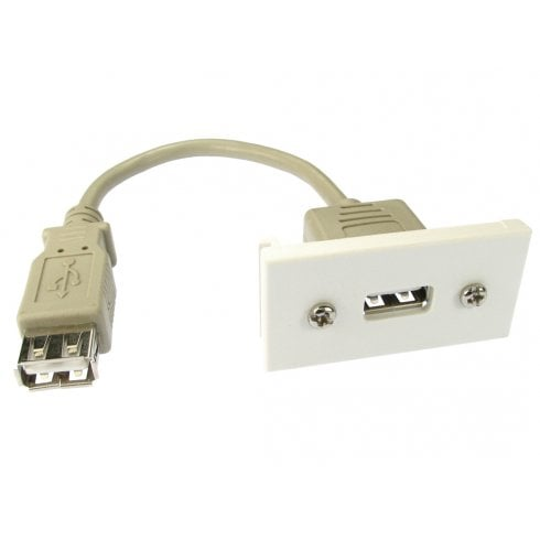 Faceplate Module with USB Stub