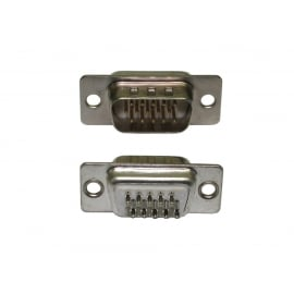HD15 Male Connector (Solder Type)
