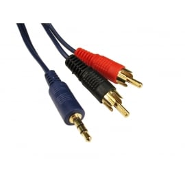 High Quality 3.5mm Stereo to Two RCA Cable