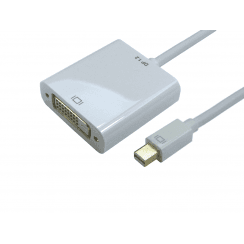 Mini DisplayPort V1.2 to DVI-D Adapter, 4k (Active)