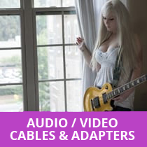 Audio & Video - cables & adaptors