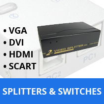 SPLITTERS & SWITCHES