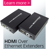 HDMI Ethernet Extenders