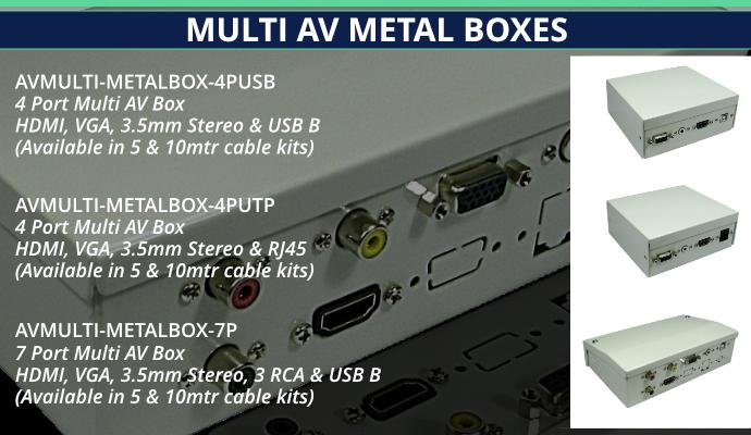 AV Metal Boxes