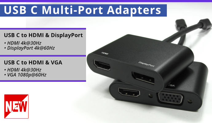 USB3C Dual Adapters