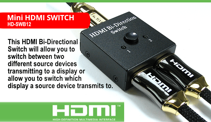 Mini HDMI Switch