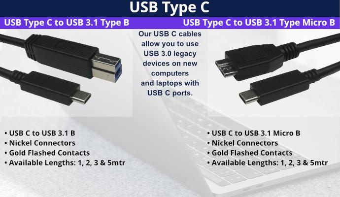NEW USBC Cables