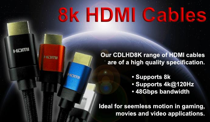 8K HDMI Cables