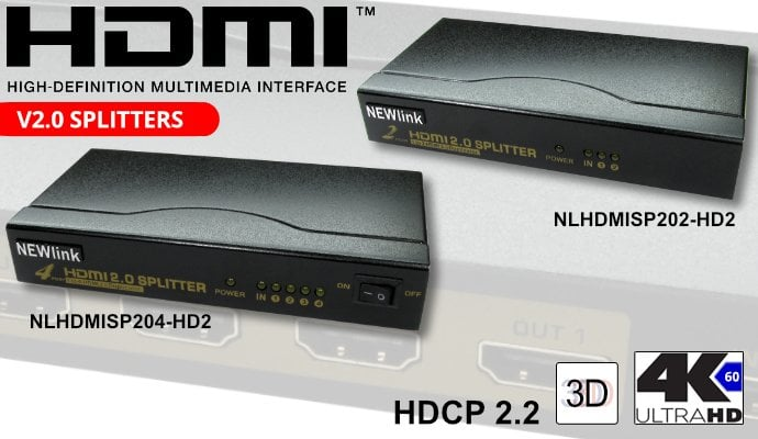 HDMI V2 Splitters