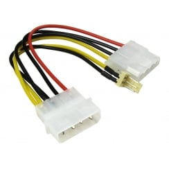 Molex Extension Cable with 3 Pin Fan Connector