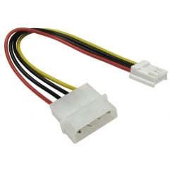 "Molex to 3.5"" Floppy Drive Power Cable"