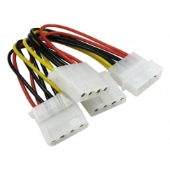 Molex to Three Molex Power Splitter Cable